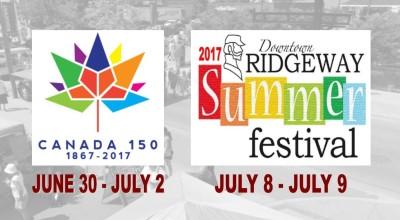 Canada 150 - Ridgefest 2017 Banner