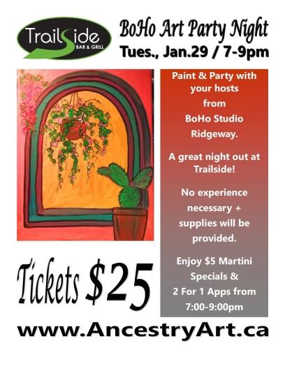 art party flyer2