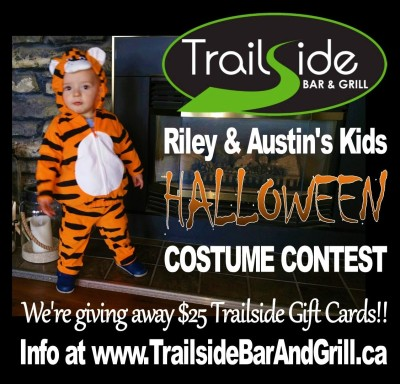 Riley's Kids Costume Contest Banner
