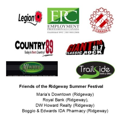 Ridgefest Sponsors