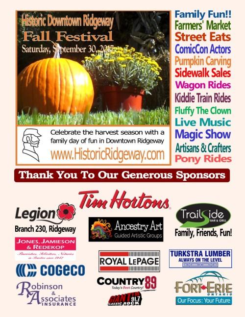 Fall Festival Sponsors