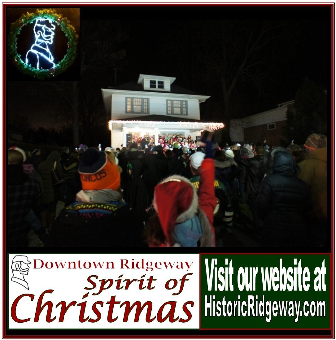 Christmas Tree Store Erie Pa: Historic Downtown Ridgeway Spirit Of Christmas